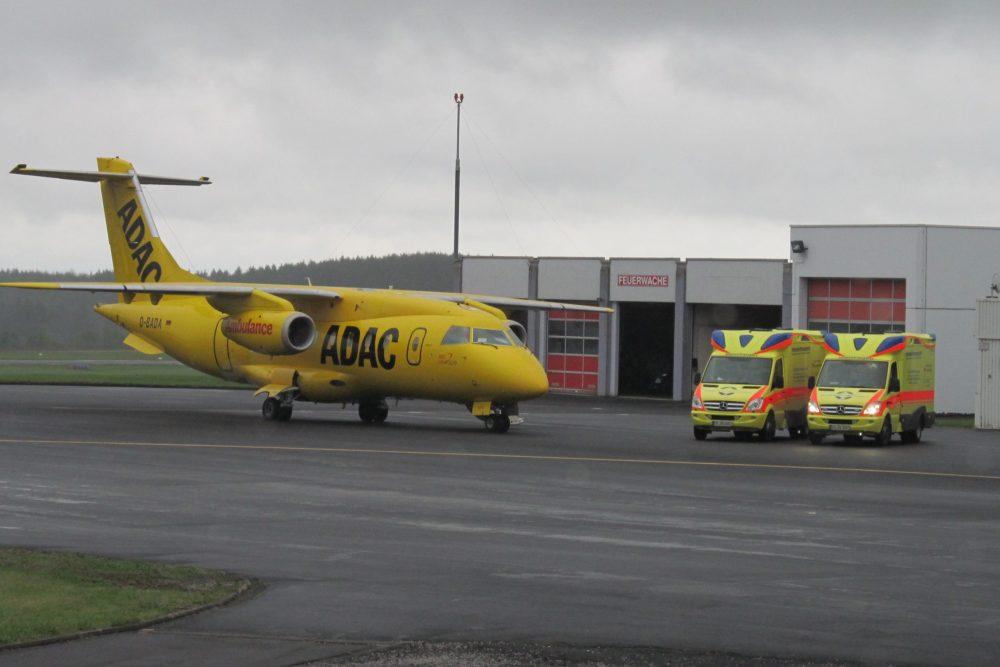 ADAC Ambulanzflight